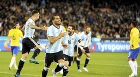 A 'alviceleste' perde um candidato para o Mundial. EFE