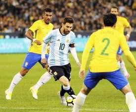 Messi ne jouera pas face à l'Iraq ni le Brésil. AFP