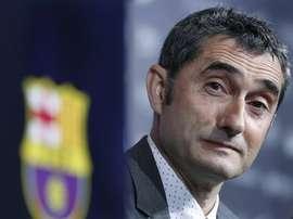 L'entraîneur du Barça ne compte pas sur eux. EFE