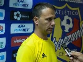 El técnico español llega a Atlético Venezuela. EFE