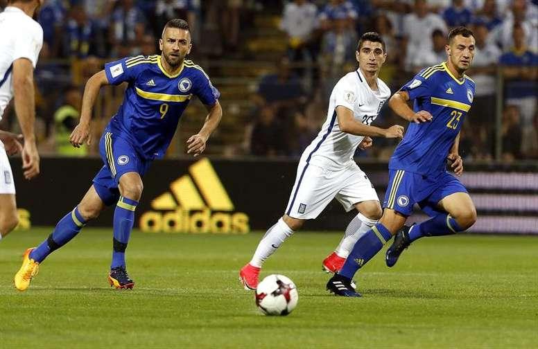 El Udinese ficha a Jajalo. EFE/EPA/FEHIM DEMIR