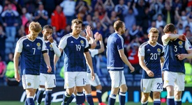 Scotland have shown promise for the future according to their manager. EFE