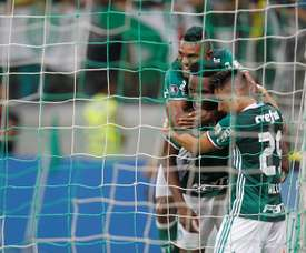 Palmeiras derrota con solvencia a Fluminense. EFE