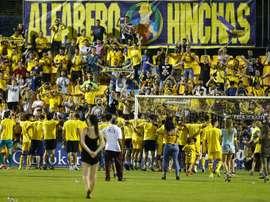 El Alcorcón ha empezado su pretemporada con victoria. EFE/J.P.GANDUL