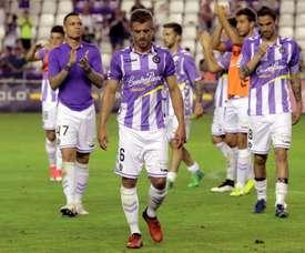El Valladolid se alzó con el Memorial Agustín Villar. EFE