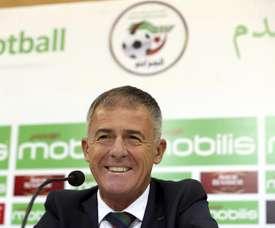 Argelia tuvo muchas dificultades para vencer a Togo. EFE/Archivo