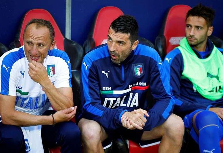 Suecia jugará ante Italia. EFE/Archivo