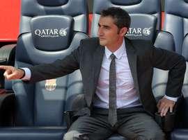 Le premier transfert de Valverde. EFE