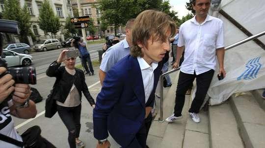 Modrid is seen as a key witness in the corruption trial. EFE