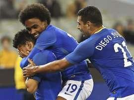 Brasil fue muy superior a Australia en el amistoso. EFE/Archivo