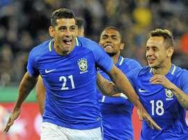 El centrocampista de la Selección Brasileña Diego Souza. EF