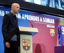 Jordi Cruyff entraîneur de l'Équateur. EFE