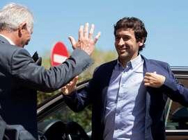 L'ancien joueur du Real Madrid, Raul Gonzalez Blanco. EFE