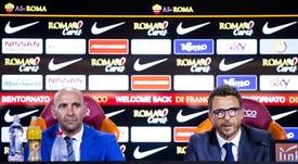 Monchi confía en su entrenador. EFE