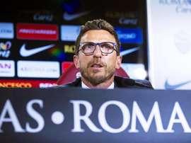 El conjunto de Eusebio Di Francesco podría hacer oficial el fichaje Ganea. EFE