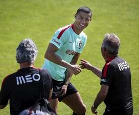 Cristiano Ronaldo Portugal. EFE