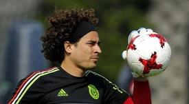 Ochoa sigue teniendo en mente el Mundial 2022. EFE/Archivo