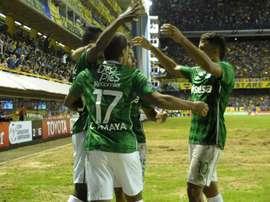 Deportivo Cali recibe a Tigres. EFE/Archivo