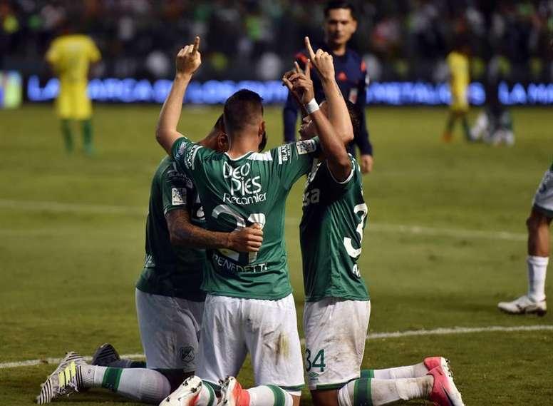 Palomeque confía en hacer una buena temporada con Deportivo Cali. EFE