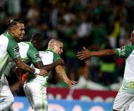 Atlético Nacional no ha empezado con buen pie el campeonato colombiano. EFE