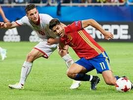 Marco Asensio deslumbró en la primera jornada. EFE