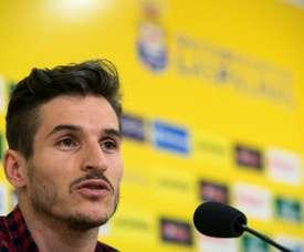 Hélder Lopes rescinde su contrato con Las Palmas y ficha por AEK. EFE
