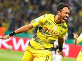 Aubameyang scored twice for Dortmund. EFE
