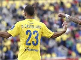Dani y Javi Castellano continuarán en Las Palmas. EFE