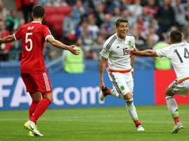 Os 'Aztecas' acompanham Portugal rumo às semi finais das Confederações. EFE