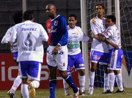 Real Potosí consiguió la victoria ante Blomimng. EFE/Archivo