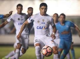 Santos se conformó con el empate ante el colista. EFE/Archivo