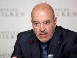 Miguel Concepción también anunció un fichaje. EFE/Archivo