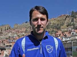 Beñat San José ha llevado a Bolívar a ganar el campeonato boliviano. EFE/Archivo