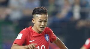 Lee Seung Woo fue reconocido por la Asian Football Confederation. EFE/Archivo