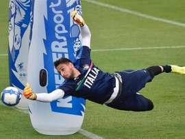 Donnarumma assure qu'il prendra une décision sur son avenir à l'AC Milan après l'Euro. Goal