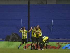 Aldosivi ganó a Estudiantes 0-2 a domicilio. EFE