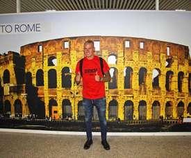 Karsdorp est le nouveau joueur de la Roma. EFE