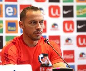 'Chelo' Díaz quiere volver al fútbol chileno. EFE