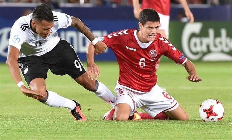 El danés pone rumbo al fútbol italiano. EFE