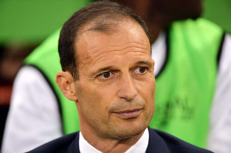 Allegri's comments have caused a stir. EFE/Archivo