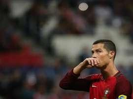 Mais três golos e uma assistência pela Seleção portuguesa, é esta a suma de CR7. EFE