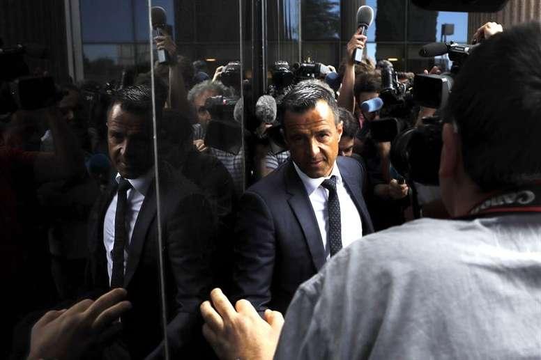 Jorge Mendes se sent menacé par la FIFA. EFE