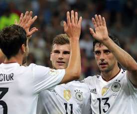 Germany were unwasteful in their efforts as they overcame Mexico. EFE