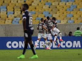 El conjunto brasileño se metió en la siguiente ronda de la Sudamericana. EFE/Archivo