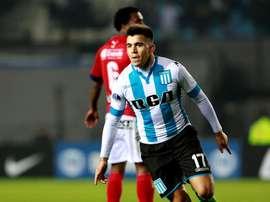 Acuña hizo el 3-1 definitivo con el que viajarán a Colombia. EFE