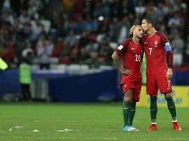 O Barcelona sondou Cristiano e Quaresma e escolheu o segundo. EFE
