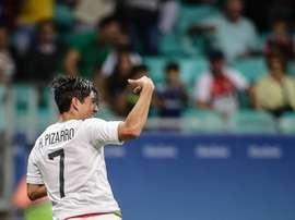 Rodolfo Pizarro ha roto todos los récords en México. EFE/Archivo