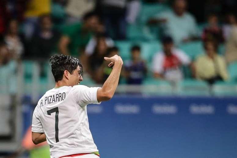 Rodolfo Pizarro rejoint l'Inter Miami. EFE/Archivo