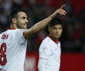 Meia deixa o Sevilla quatro temporadas depois de ter chegado ao clube. EFE