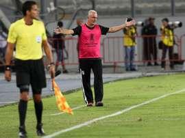 Dorival sigue sin poder reconducir la situación de Atlético GO. EFE